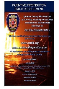 Human Resources division of Spokane County Fire District 8